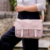 BESACE |Estafette rose paillette