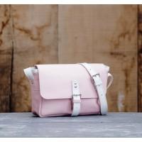 SAC cuir ROSE  | Petit messager
