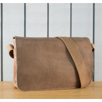 BESACE CUIR FOSSILE | MUSETTE