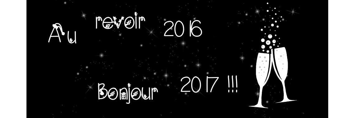 au revoir 2016 ....