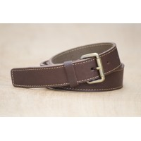 CEINTURE CUIR MARRON| La french